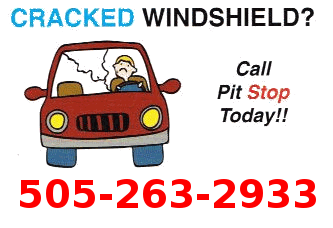 Windshield Auto Glass Chips Line Cracks Repair Service ABQ