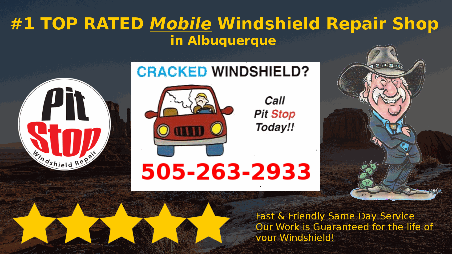 Windshield Repair in Albuquerque