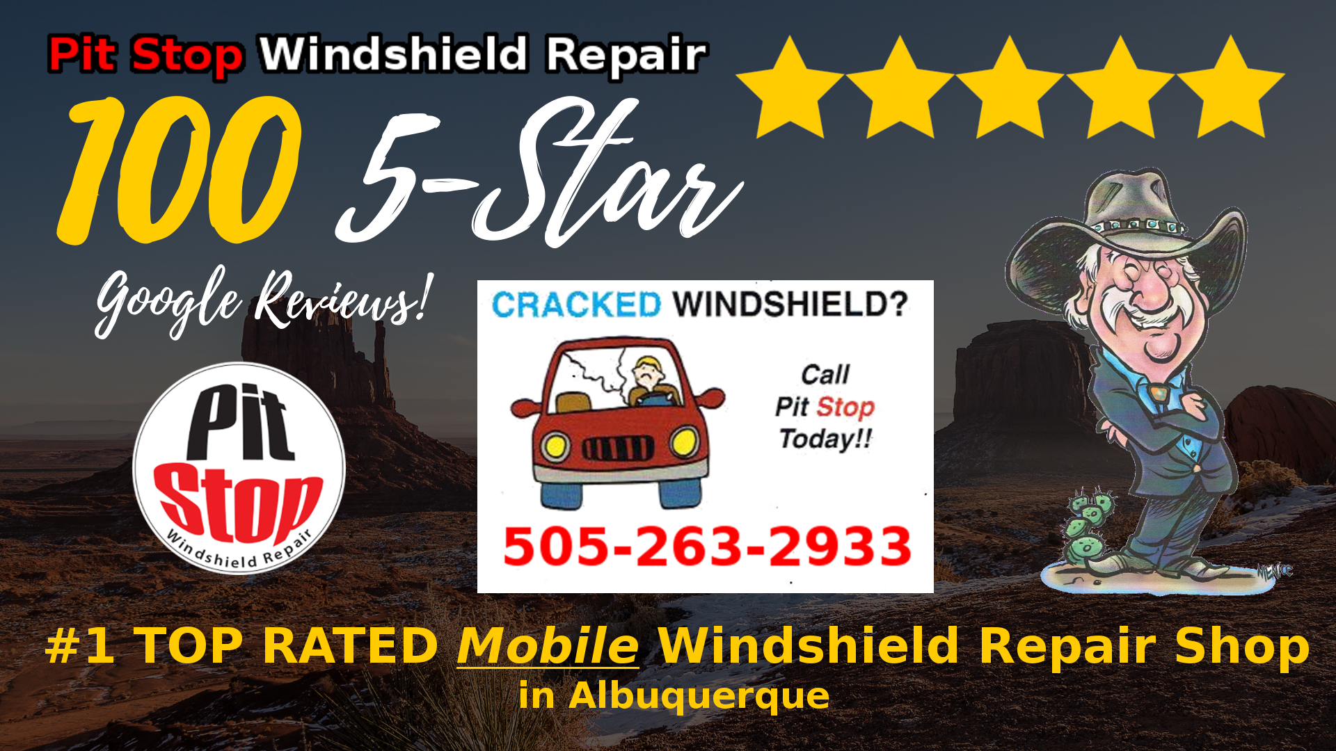 Pit Stop Reaches 100 5-STAR Reviews: #1 TOP RATED Windshield
